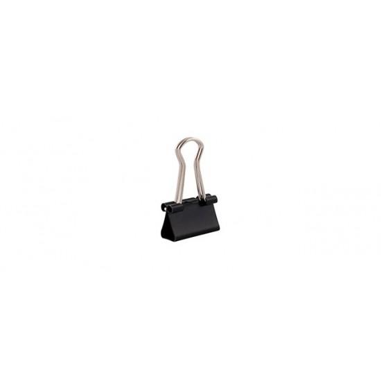Clips 15mm metal D.rect 12/cut 360052