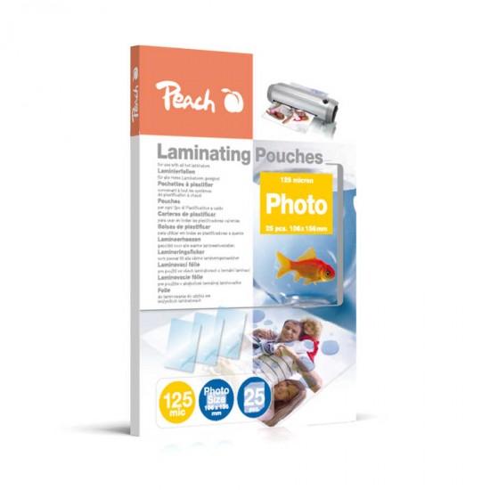 Folie laminare 100x150mm foto 125mic 25/top Peach S-PP525-20 510619