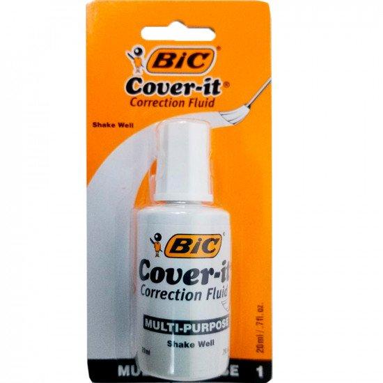 Corector fluid 20ml alcool Bic Eco 10/cut 964249 919373 (B10)
